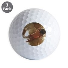 Baby with mom Golf Ball