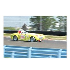 A British Racer At Speed Postcards (Package of 8)