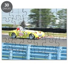 A British Racer At Speed Puzzle