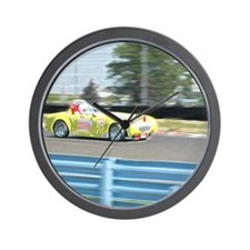 A British Racer At Speed Wall Clock
