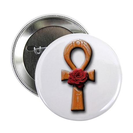 Ra Rose-Ankh Button