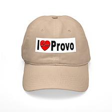 I Love Provo Baseball Cap