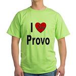 I Love Provo Green T-Shirt