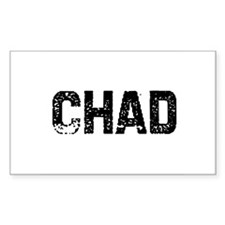 Chad Rectangle Decal