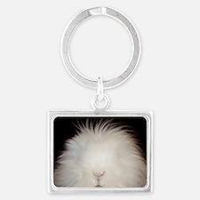 Bunny Card Landscape Keychain