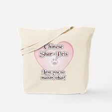 Shar Pei Love U Tote Bag