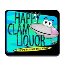 Happy Clam Liquor Mousepad