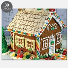 Gingerbread House Puzzle