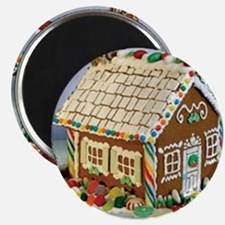 Gingerbread House Magnet