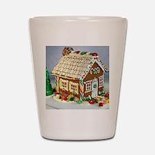 Gingerbread House Shot Glass
