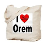 I Love Orem Tote Bag