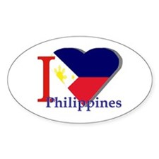 I love Philippines Decal