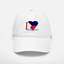 I love Philippines Baseball Baseball Cap