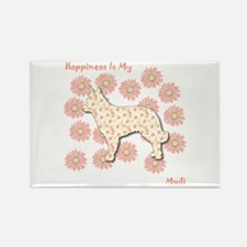 Mudi Happiness Rectangle Magnet