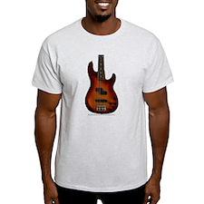 """""""Darkness"""" Bass Guitar T-Shirt"""