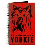Obey the YORKIE! World Domination Journal