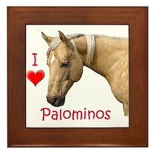 Palomino Framed Tile
