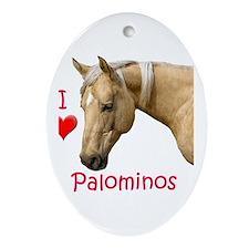 Palomino Oval Ornament