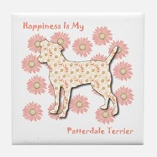 Patterdale Happiness Tile Coaster