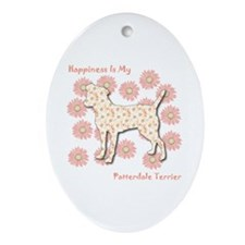 Patterdale Happiness Oval Ornament