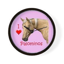 Palomino Wall Clock