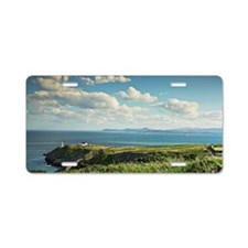baily lighthouse on howth h Aluminum License Plate