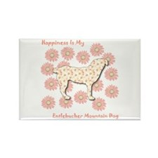 Entlebucher Happiness Rectangle Magnet