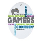 Gaming Oval Ornaments