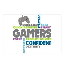 Gamers Postcards (Package of 8)