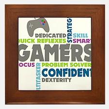 Gamers Framed Tile