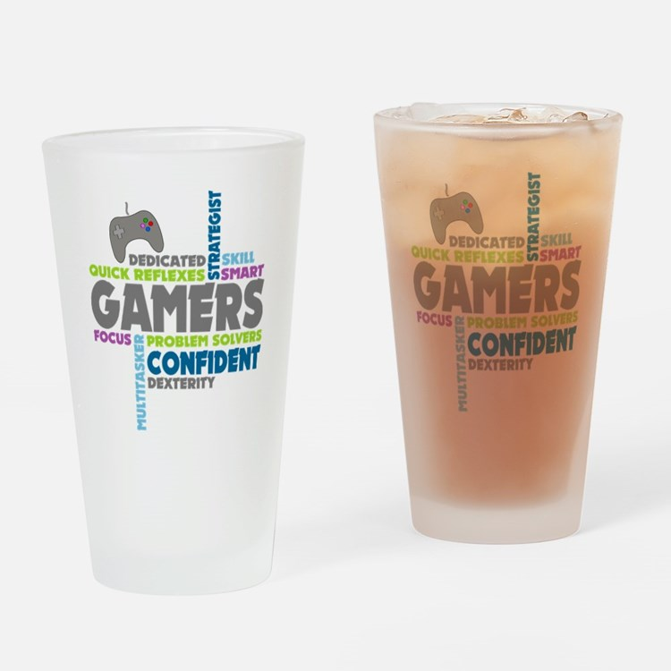 Gamers Drinking Glass