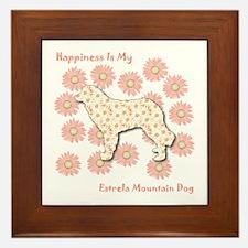Estrela Happiness Framed Tile
