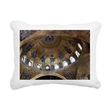 ascension dome in st. ma Rectangular Canvas Pillow
