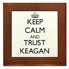 Keep Calm and TRUST Keagan Framed Tile