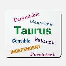 Taurus Traits And Characteristics Mousepad