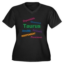 Taurus Traits And Characteristics Plus Size T-Shir