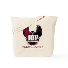 IUP TF Maroon Logo Tote Bag
