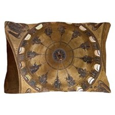 ascension dome in st. mark's basilica Pillow Case