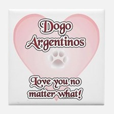 Dogo Love U Tile Coaster