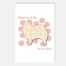 Spitz Happiness Postcards (Package of 8)
