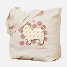 Spitz Happiness Tote Bag