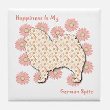 Spitz Happiness Tile Coaster
