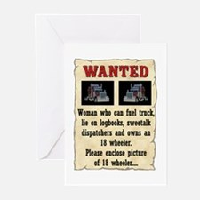 Woman Wanted Greeting Cards (Pk of 10)