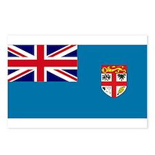 Fiji flag Postcards (Package of 8)