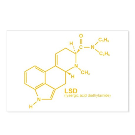 LSD Postcards (Package of 8)