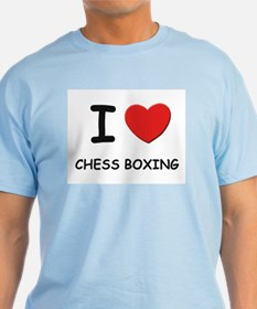 I love chess boxing  T-Shirt