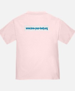 LOVE YOUR BODY! Toddler Tee in 4 colors