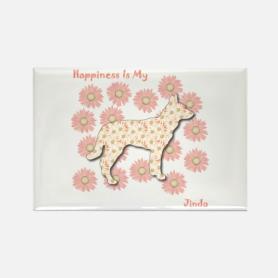Jindo Happiness Rectangle Magnet