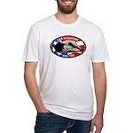 USS SCRANTON Fitted T-Shirt