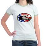 USS SCRANTON Jr. Ringer T-Shirt